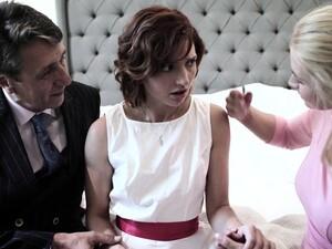 Pretty Shy Bride Elena Koshka Has To Suck Strong Fat Cock Damn Great