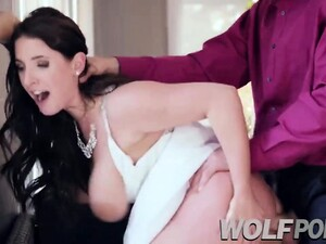 My Girlfriend Gets Horny And Fucks The Priest At My Wedding