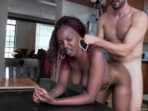 Real African Hooker Fucked And Facialized On Camera