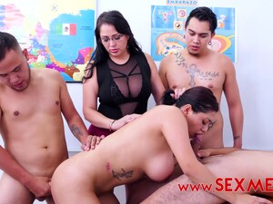 Sofia Caimanes - Gangbanging The Teacher
