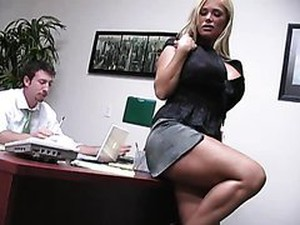 Insanely Busty Blonde Shyla Stylez Gets Anally Pounded By Her Co-worker