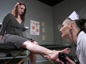 Ladyboy Nurse Bonks Hard