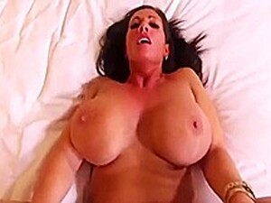 Candy Strong - MOM, Busty Brunette MILF Takes His Length