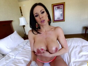 Amazing Brunette Kendra Lust Adores Love Stick Insertion