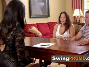 Swinger Fancy Party Ended Up Being A Hot And Wild Orgy!
