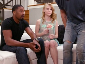 Insatiable Girl Hannah Hays Gets Blacked In The Presence Of Her Boyfriend