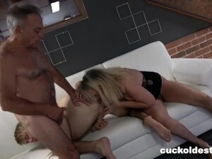 Dirty Old Grandpa Learns How To Cuckold Granny