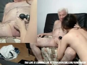 Grandpa Loves On Cam
