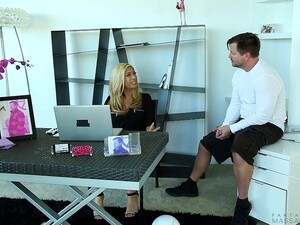 Blonde Whore With A Hot Ass Enjoying A Hardcore Missionary Style Fuck
