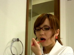Aihara Mari Attacked By A Hunk For A Kinky Bathroom Sex Session