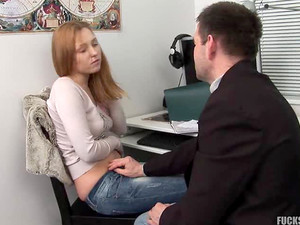 Russian Teen Likes Older Man Cock