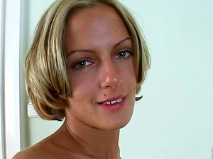 Hot POV Casting With Blonde Christal