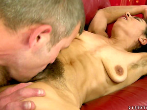 Nasty Hairy Mature Laid By Young Man