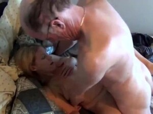 Old Man With Very Big Dick Fucks Hard Cute Teen. Amateur Girl Paying The Rent With Her Pussy