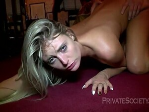Small Titted Blonde Is Fucking Her New Lover In Front Of Her Partner And Moaning While Cumming