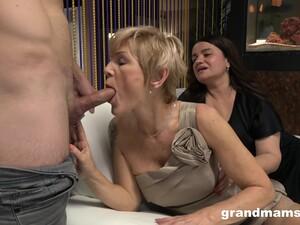 Grand Mams - Grandmas Threesome: Part 2