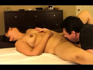Short Haired Brunette Wife With Perky Boobs Gets Her Peach