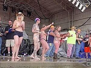 Huge Amateur Wet T Contest At Abate Of Iowa 2016 - NebraskaCoeds