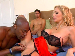 Julia Ann Is Getting Black Dick In Anal