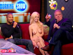HD Interview With Slender Naked Stewardesses