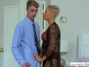 Man Eating Milf Ryan Keely Seduces Her Stepson And Fucks Him Hard