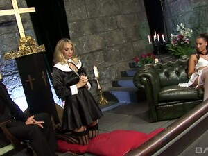 Sizzling Nun Jordan Kingsley Prays For Her Sins And Takes Part In Crazy Orgy