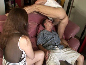 Hubby Is Jealous For His Milf Wife Because She Blows A Big Dick