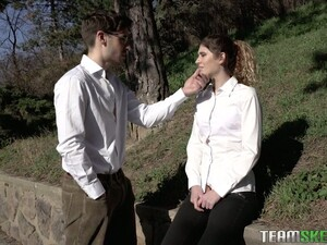 Serbian Chick Candice Demellza Gives Her Head And Gets Fucked On The First Date