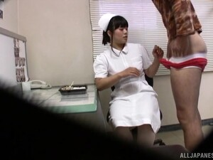 Japanese Nurse Gets Fucked In A Hospital And Filmed On A Hidden Camera