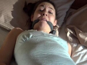 Sweet Girl Cleave Gagged