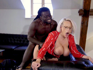 Mature With Huge Knockers, Insane Black Porn In Doggy Scenes
