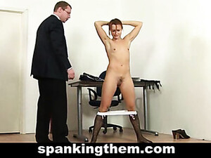College Babe Getting Punishment