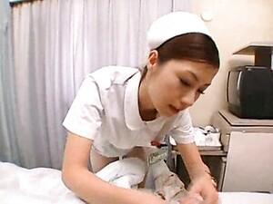 Japanese Nurse Treats Him With Hot Fucking