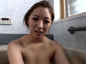 Cock Hungry Japanese Wife Manatsu Yumeka Gives A Blowjob In POV