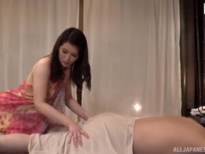 Massaging A Cock With Her Pussy Is What This Japanese Girl Likes The Most