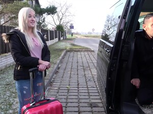 Lonely Traveler Daisy Gets Fingered And Pounded From Behind