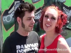 Short-haired Redhead Amateur Gets Banged By Her Horny Boyfriend