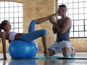 Flexible Blonde Tries Yoga Positions Having Hot Sex