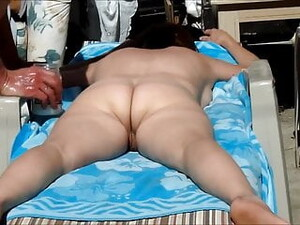 Ass And Pussy Massage