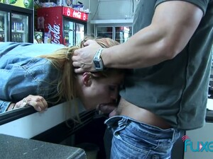 Just Ordinary Pale Bitchie Hooker Is Fucked Hard Enough In The Shop