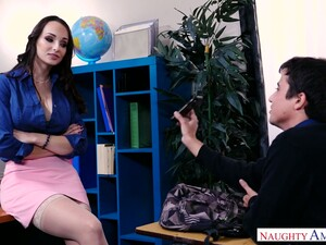 Too Naughty Office Slut Lexi Luna Thirsts For Sensual Sex At Work