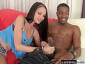 Raven Fits A Giant Bbc In Her Tight Little Pussy - LethalHardcore