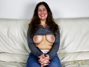 Shy Young Amateur First Audition Interview