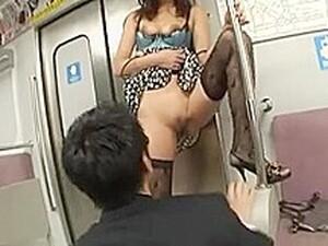 Japanese Sex On Train