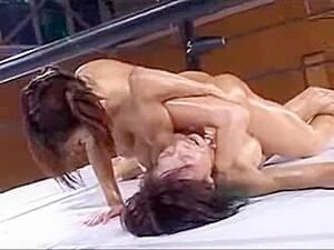 Japanese Oil Wrestling Capture