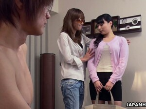 Stepmom Picks Up Yummy Asian Chick Kokona Sakurai For Her Nerdy Stepson