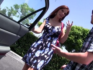 Fucking Hot Milf Syren De Mer Thanks One Young Dude And Invites Him To Visit Her Muff