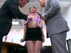 Naughty Secretary Lovers Being Shagged By Horny Co-workers