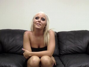 Carmen Is A Blonde With Amazing Breasts Who Likes To Shag