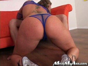 Oiled Up Flower Tucci Gets A Mouthful After Rough Sex